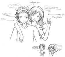 Mith and I xD by Ashayami