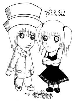 -Chibi Fel and Vel-