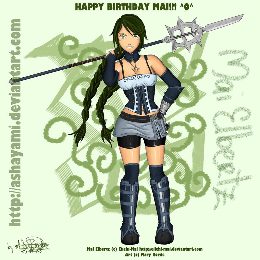 Happy Birthday Mai :D