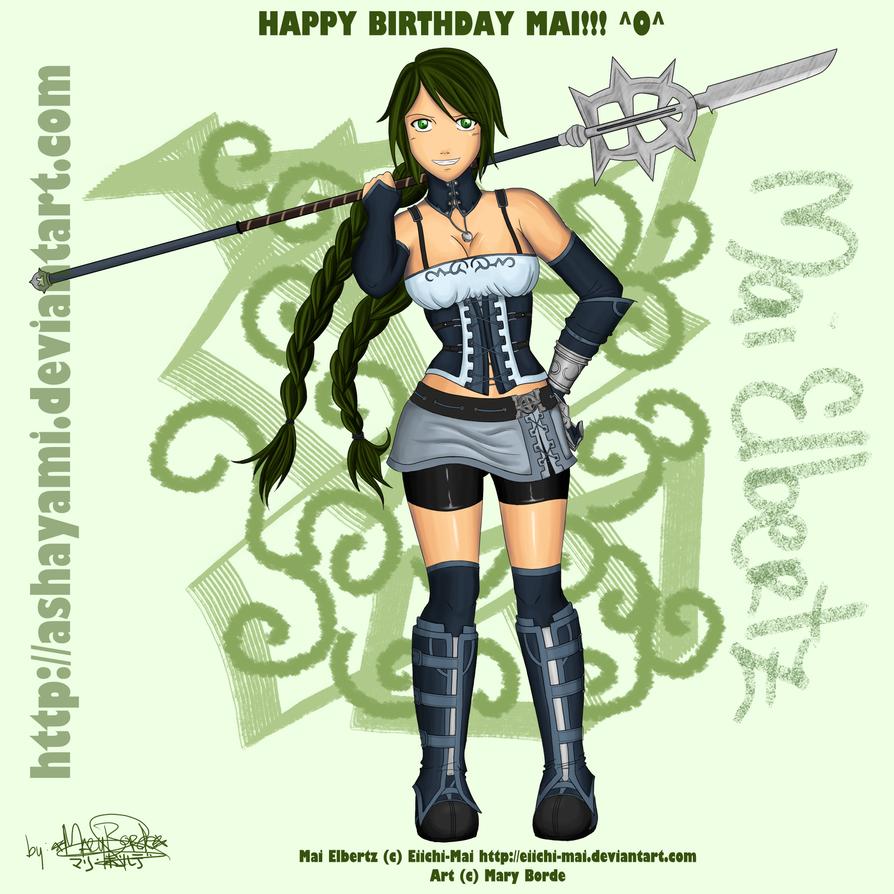 Happy Birthday Mai :D by Ashayami