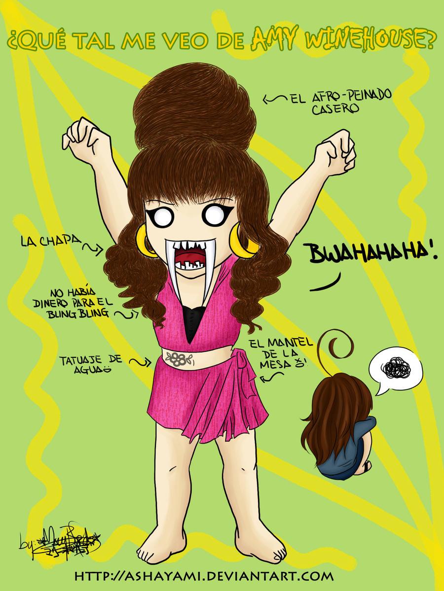 Que tal me veo de Amy Wineh.? by Ashayami
