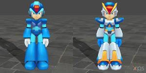 Mega Man Maverick Hunter X - X for XPS