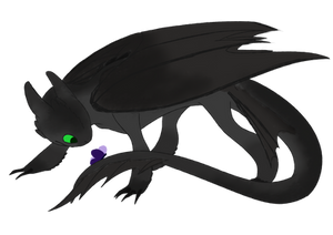 Toothless redraw
