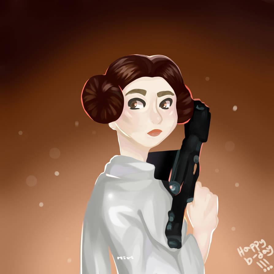 Leia by MiriKoKo