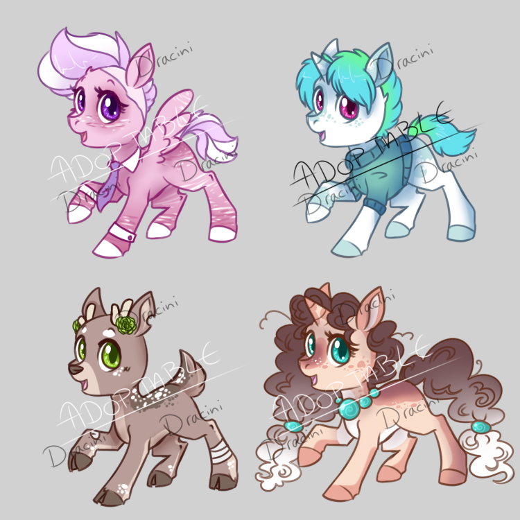 Foal Adopt Sheet -OPEN- Now Accepting Points by Dracini