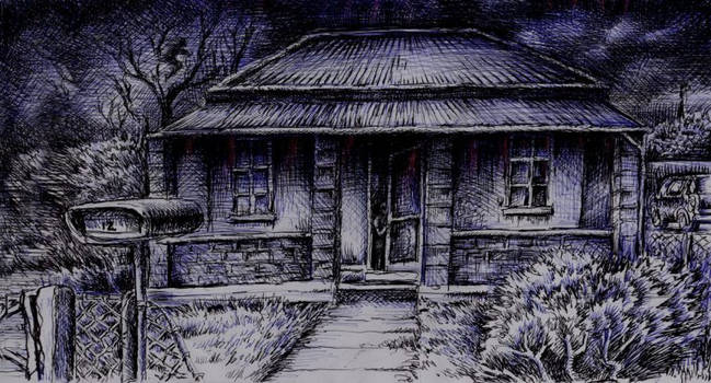 Hauntings of 12th Avenue by Black--Mountain