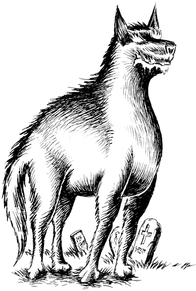Barghest by Black--Mountain