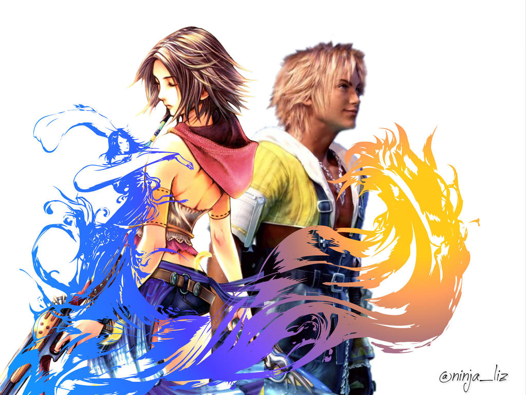 Final Fantasy 10 Wallpaper: Final Fantasy X Wallpaper By Liz-Farron On DeviantArt