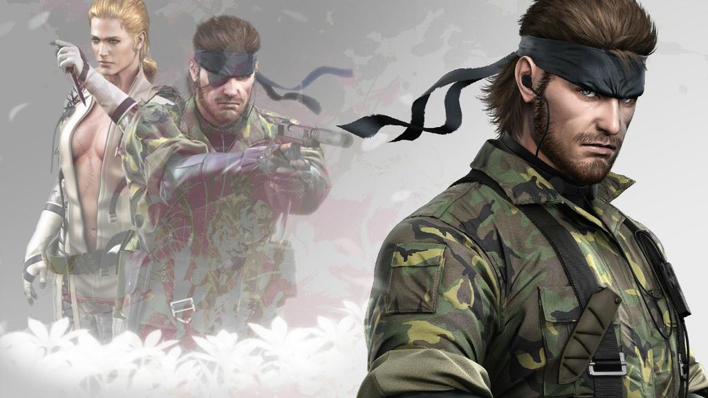 Metal Gear Solid 3 Snake Eater Wallpaper By Liz Farron On Deviantart