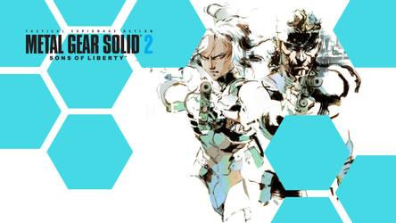 Metal Gear Solid 2 Wallpaper by Liz-Farron