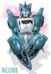 Smile Blurr by YUKIZARASI