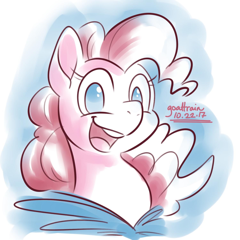 10-22-17 Pinkiepie by goattrain