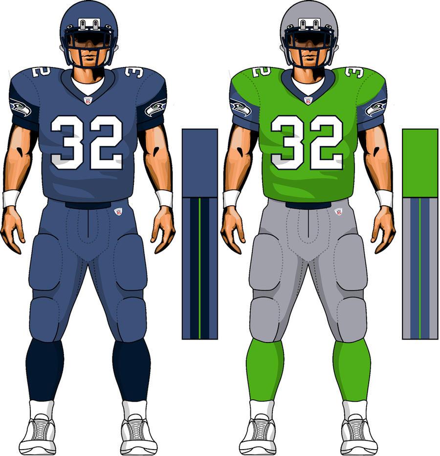 Seahawks Uniform concept