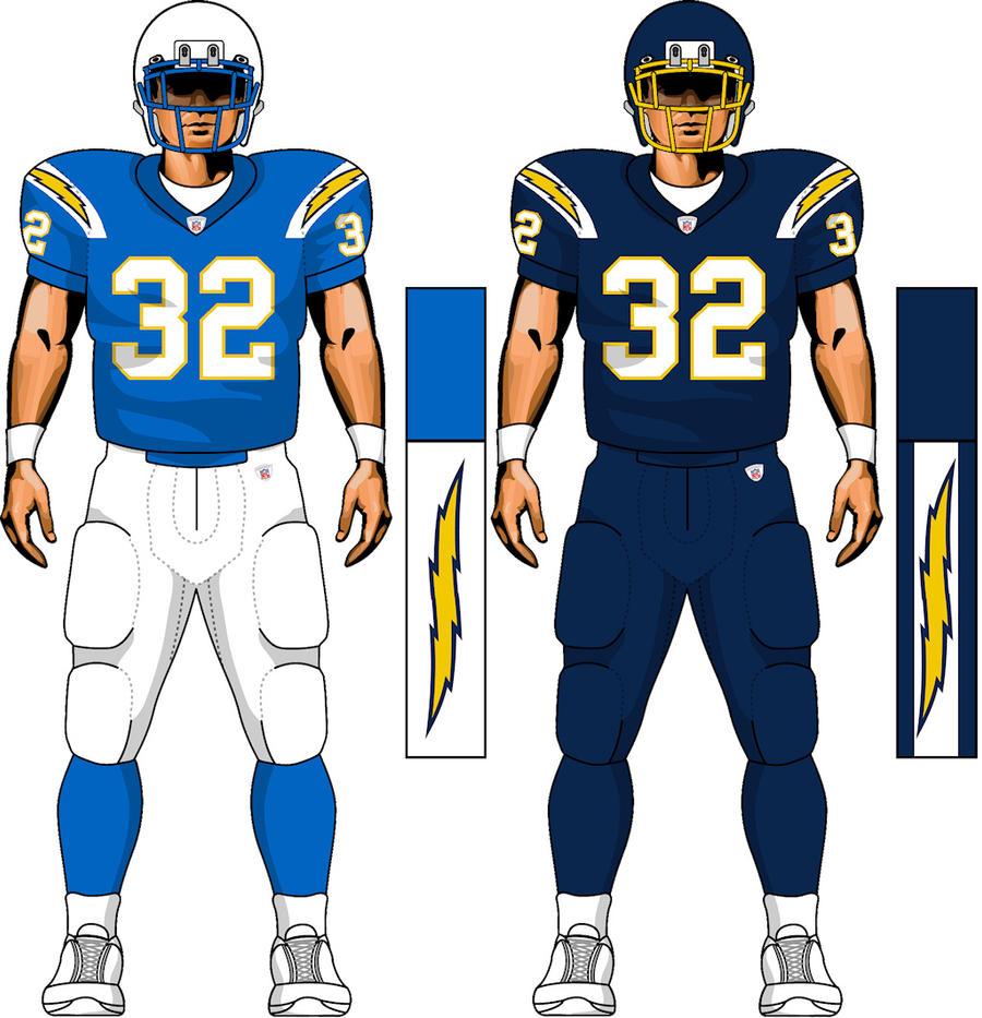 Chargers Uniform Concept By Thegreatktulu On Deviantart