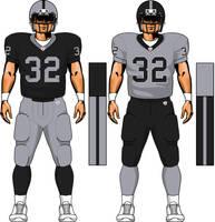 Raiders uniform concept by TheGreatKtulu