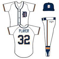 Tigers home uniform concept by TheGreatKtulu