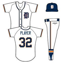 Tigers home uniform concept