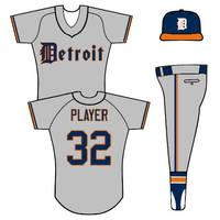 Tigers road uniform concept by TheGreatKtulu