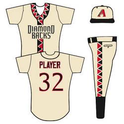 Diamondbacks uniform concept
