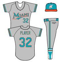 Miami Marlins uniform concept by TheGreatKtulu