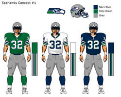 More Seahawks uni concepts 1 by TheGreatKtulu