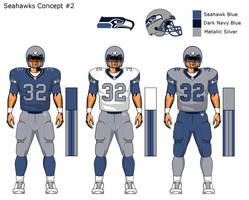 More Seahawks uni concepts 2 by TheGreatKtulu