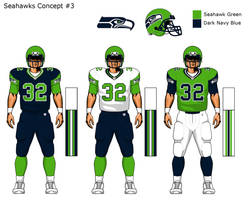 More Seahawks uni concepts 3 by TheGreatKtulu