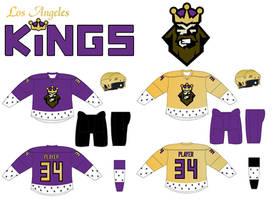 LA Kings uniform concept by TheGreatKtulu