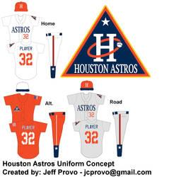 Houston Astros uniform concept