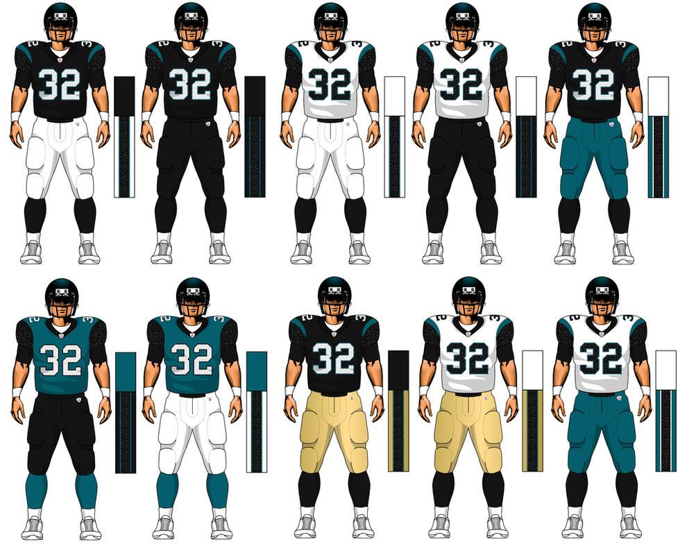 jaguars uniforms 2017 - photo #11