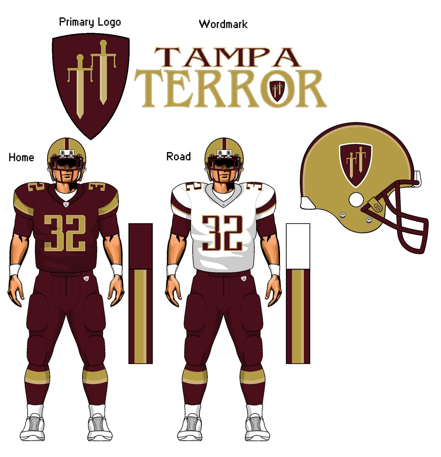 Tampa Terror, fantasy football team. by TheGreatKtulu on ...