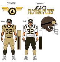 Atlanta Flying Fleet, fantasy football team. by TheGreatKtulu