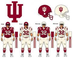 Indiana Hoosiers uniform concept by TheGreatKtulu