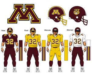 Minnesota Golden Gophers uniform concept by TheGreatKtulu