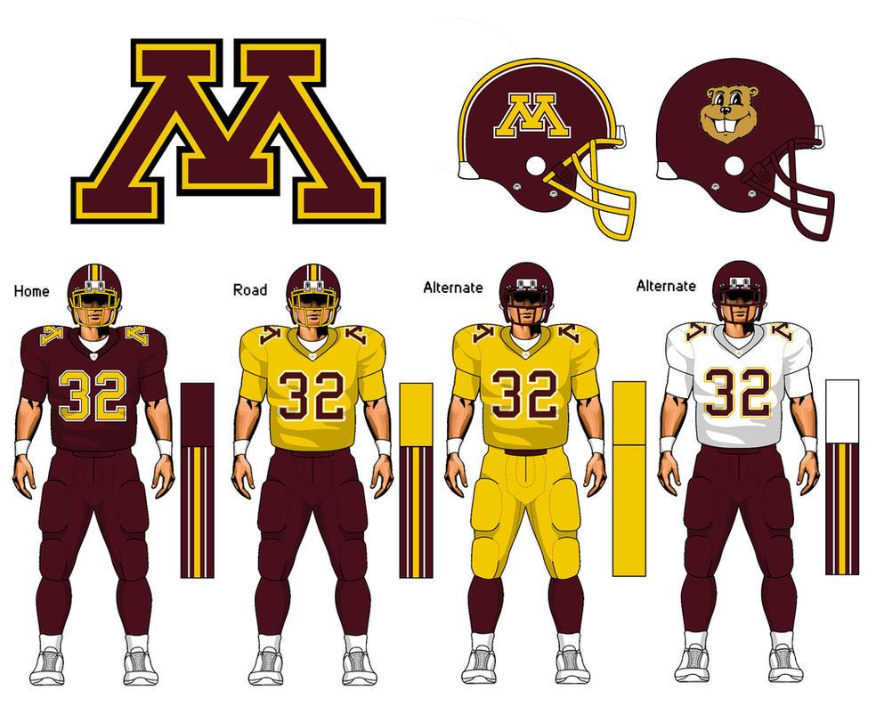 golden gophers football jersey