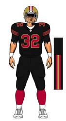 49ers Black Alternate Fixed? by TheGreatKtulu