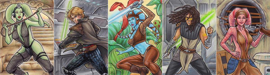Star Wars set 2 by AmyClark