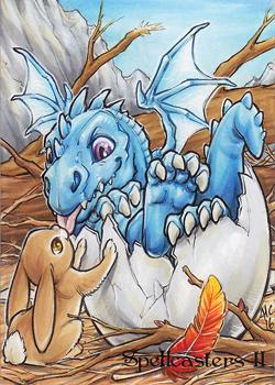 Spellcasters2 Dragon Hatchling by AmyClark