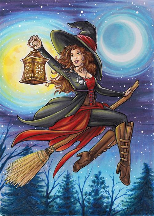 Halloween: Witchcraft base by AmyClark