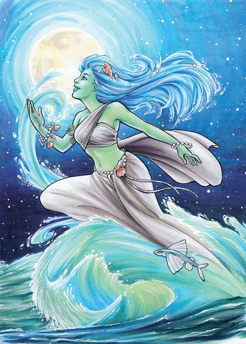 Water Elemental by AmyClark