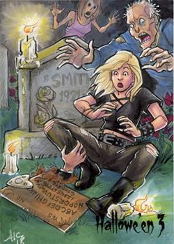 Graveyard Seance