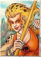 Cheetara sketch card
