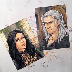 Witcher: Geralt and Yennefer