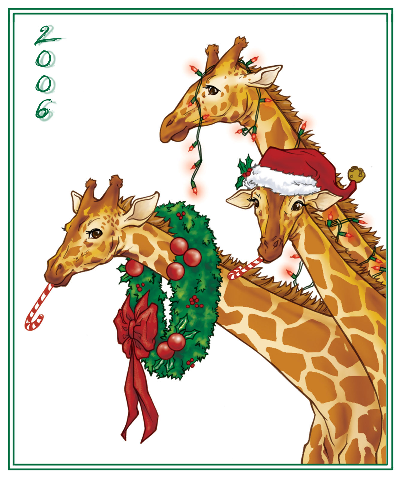 Swank Stylista — Merry Giraffe Christmas!!!!