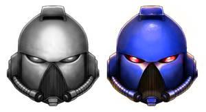 Spacemarinehelmet color test