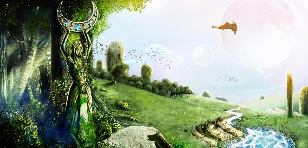 Exploring the maidenworld