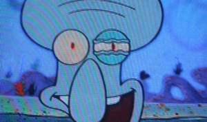 Squidward on Crack by andyboosh4ever