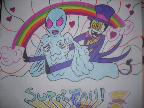 Superjail Logo Sketch