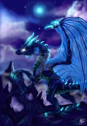 Bluedragon by Ikarlion