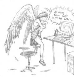 Even Angels must wait